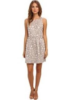 kensie Floral Outlines Dress