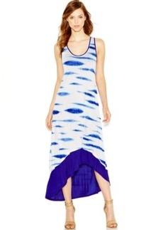 kensie High-Low Print Maxi Dress