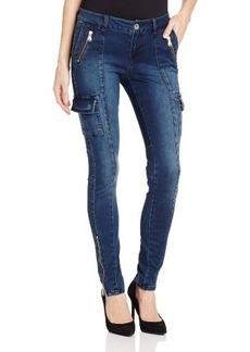 Kensie Jeans Women's Cargo Skinny Jean