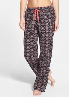 kensie 'Just a Crush' Flannel Pants