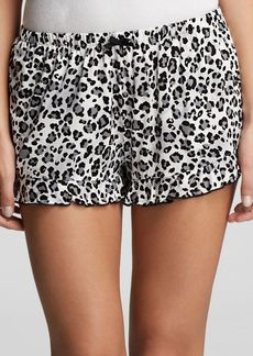 Kensie Just Nude Animal Print Boxer Shorts