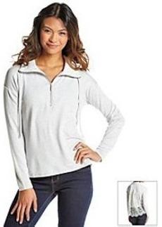 Kensie® Lace Sweatshirt