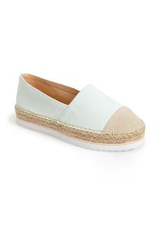 kensie 'Ladonna' Sneaker Sole Espadrille Platform  Flat (Women)