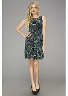 kensie Layered Feather Dress
