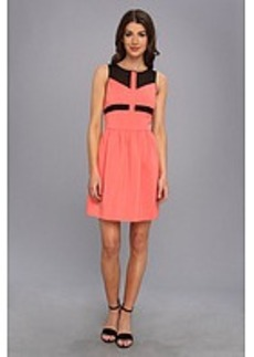 kensie Matte Couture Stretch Dress