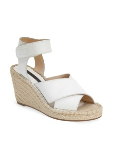 kensie 'Narcisa' Ankle Strap Espadrille Wedge (Women)