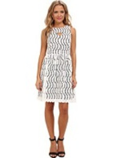 kensie Novelty Eyelet Dress KS7K7030
