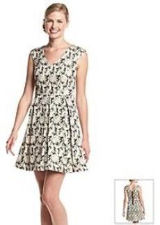 Kensie® Oak Leaves Party Dress