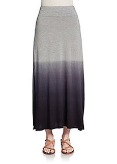 Kensie Ombre Jersey Maxi Skirt