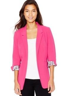 kensie Open-Front Crepe Blazer, a Macy's Exclusive Style