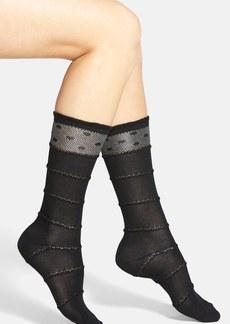 kensie Openwork Socks