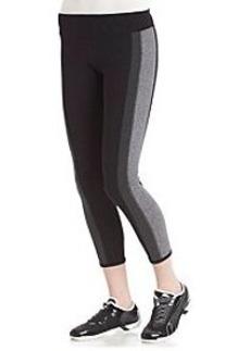 Kensie® Performance Colorblock Contrast Panel Leggings