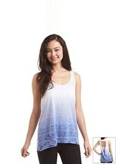 Kensie® Performance Dip Dye Burnout Tank