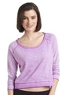 Kensie® Performance Raglan Airbrush Pullover
