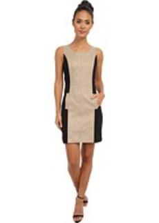 kensie Pleather Dress