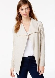 Kensie Ponte-Knit Snap Jacket, a Macy's Exclusive Style