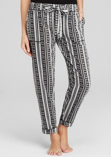 Kensie Printed Crop Pants