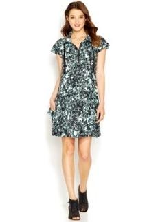 Kensie Printed Pocket Dress