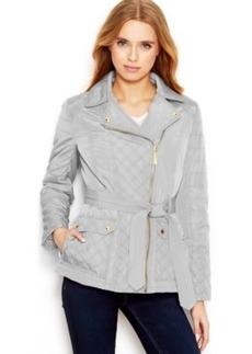kensie Quilted Utility Jacket