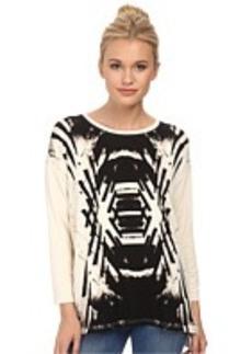 kensie Reflected Deco Sweatshirt KS3K3493