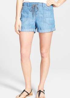 kensie Relaxed Utility Shorts