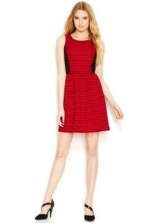 Kensie Ribbed Striped Dress