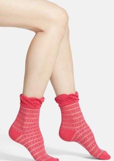kensie Ruffle Ankle Socks