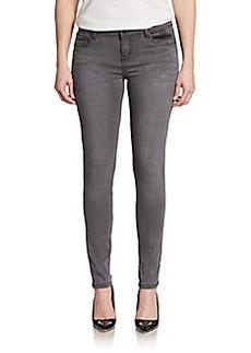 Kensie Saints Of Grey Skinny Ankle Jeans