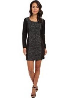 kensie Scattered Houndstooth Dress KS0K7224