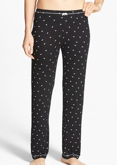 kensie 'Seasonal Keepers' Print Pajama Pants