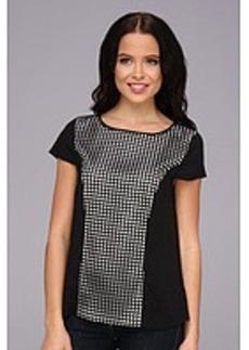 kensie SFCR Woven Shirt