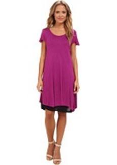 kensie Sheer Viscose Dress KS7K7060