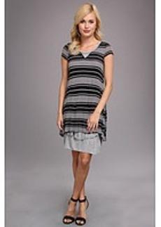 kensie Sheer Viscose T Tee Dress