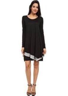 kensie Sheer Viscose Tee Dress KSNK7234