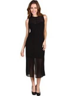 kensie Sleeveless Crepe Dress