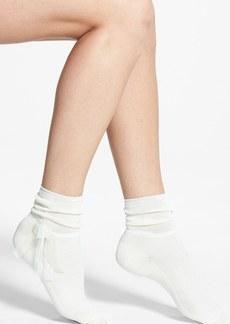 kensie Slouchy Bow Detail Socks
