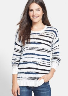 kensie Slub Knit Sweater