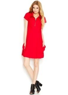 Kensie Solid Pocket Dress