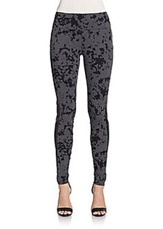 Kensie Splatter-Print Leggings