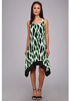 kensie Streaked Spots Dress KS6K9981