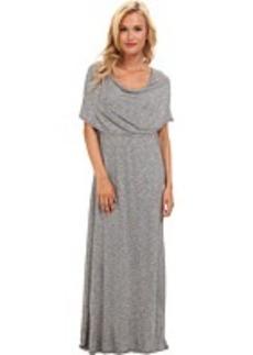 kensie Streaky Slub Jersey Dress