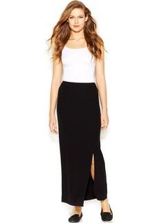 kensie Stretchy Crepe Maxi Skirt