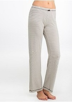 Kensie Striped Knit Pajama Pants
