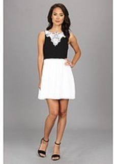 kensie Textured Dot Dress