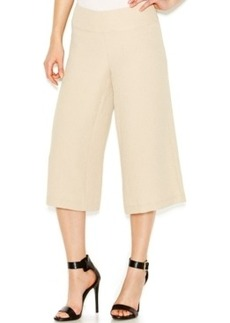 kensie Textured Gaucho Pants