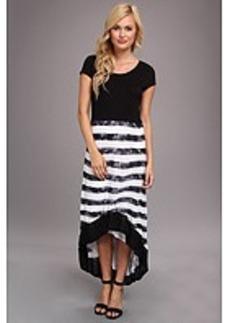 kensie Textured Stripe Dress MB