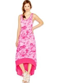 kensie Tie-Dye High-Low Dress