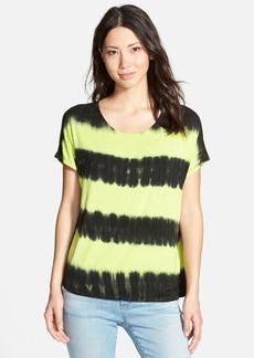 kensie Tie Dye Stripe Top