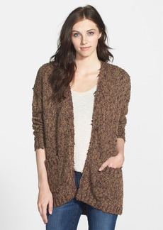 kensie Tweed Bouclé Cardigan