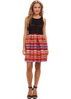 kensie Varied Stripes Dress KS7K7034